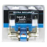 Serrure à verrou à levier Ultra Security, laiton poli | Ultra Securitynull