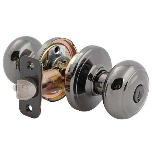 Brinks Jackson Keyed Entrance Door Knob, Polished Brass Product image