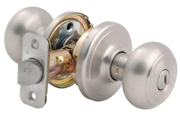 Brinks Jackson Privacy Door Knob, Satin Nickel Product image