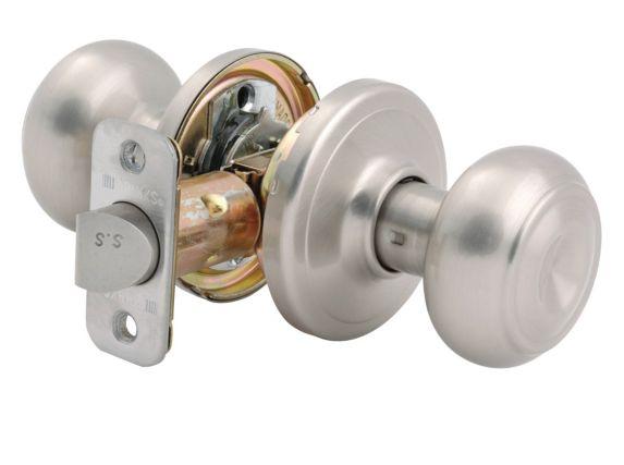 Brinks Jackson Passage Door Knob, Satin Nickel Product image