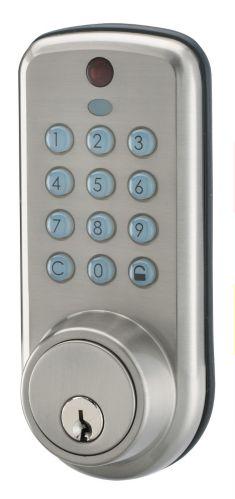 Serrure de porte électronique, nickel Image de l'article