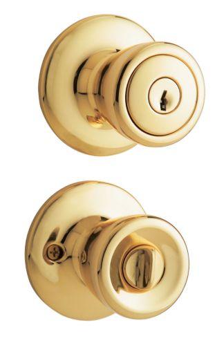 EZ Set Polished Brass Tulip Handle Product image