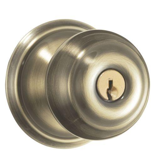 Schlage Keyed Entry Lockset, Georgian Product image