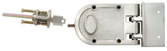 Pêne dormant, un cylindre Image de l'article