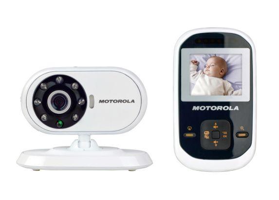 Moniteur de surveillance vidéo de bébé Motorola MBP483, 2,8 po Image de l'article