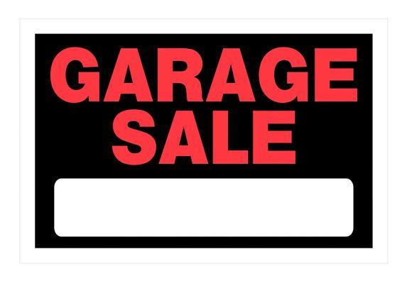 Affiche Garage Sale Hillman, 8 x 12 po Image de l'article