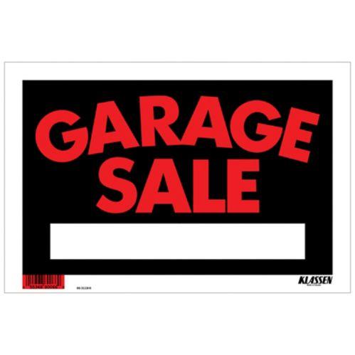 Klassen Garage Sale Sign, 9 x 12-in Product image