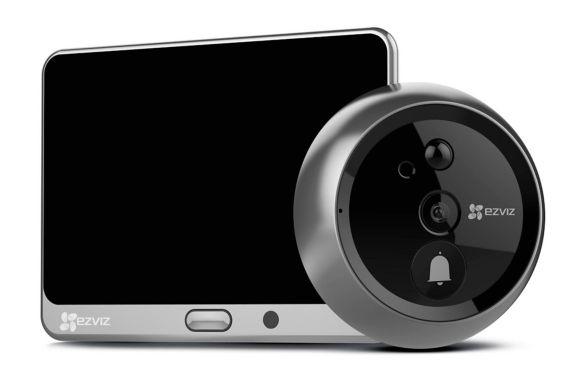 Caméra intelligente sans fil 720p pour porte EZVIZ ezLookout Image de l'article