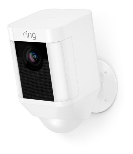 Ring Spotlight Battery-Powered Camera, White Product image