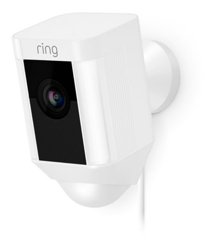 Ring Spotlight Wired Camera, White Product image