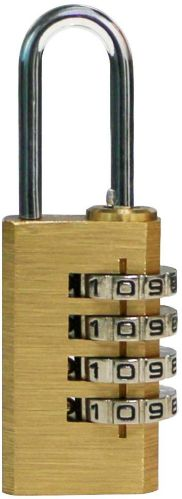 Garrison 4-Dial Re-Settable Solid Brass Lock Product image