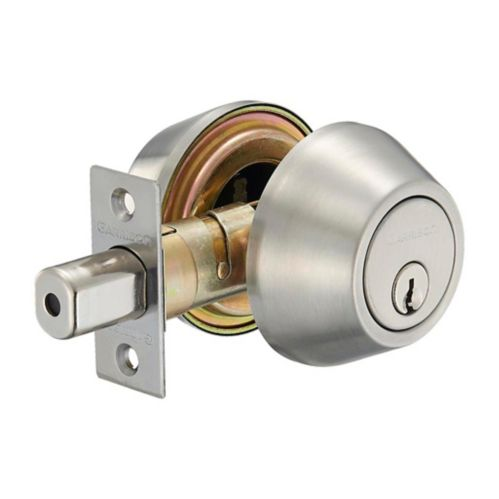Garrison Double Cylinder Deadbolt, Stainless Steel Product image