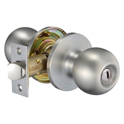 Garrison Ball Privacy Knob, Stainless Steel Product image