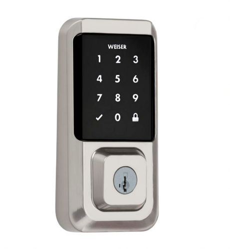 Weiser Halo Wi-Fi Deadbolt, Satin Nickel Product image