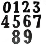 Black House Number | Interselnull