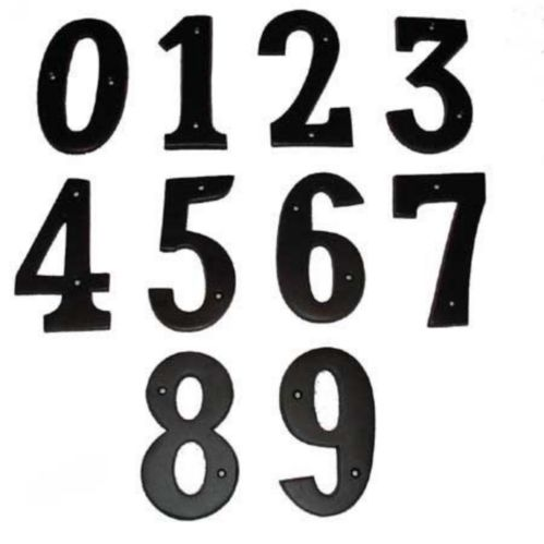 Black House Number Product image