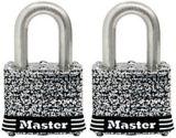 Cadenas large Master Lock, acier inoxydable laminé, 40 mm, paq. 2 | Master Locknull