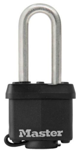Master Lock 44mm Laminated Stainless Steel Padlock, 2-pk Product image