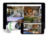 Caméra de surveillance EZVIZ DVR Bullet, 4 canaux, paq. 4