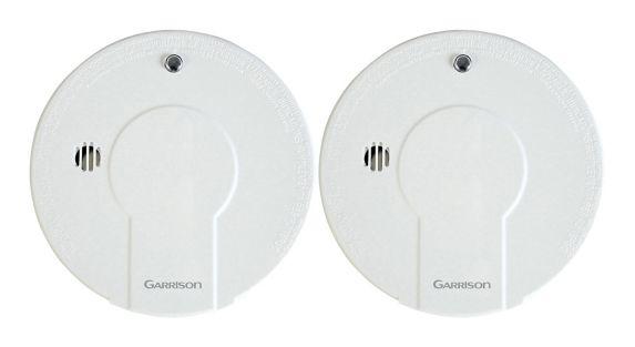 Détecteurs de fumée Garrison avec bouton Arrêt, paq. 2 Image de l'article