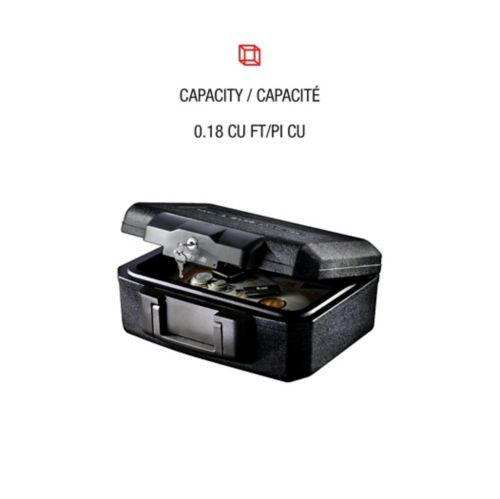 SentrySafe Small Fire & Security Chest, 0.18-cu.ft Product image