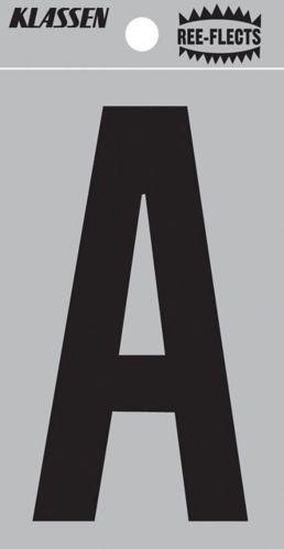 Chiffres et lettres réfléchissants Klassen, 3 po Image de l'article