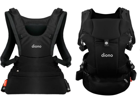 Diono Carus Essentials 3-in-1 Baby Carrier, Black Product image