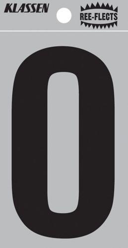 Lettres et chiffres réfléchissants Hillman 839390, varié, 2 po Image de l'article