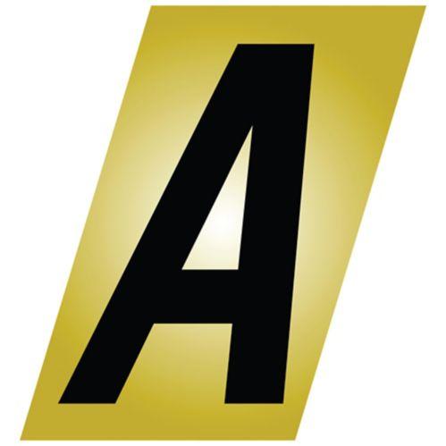 Lettres en aluminium Klassen, 2 po