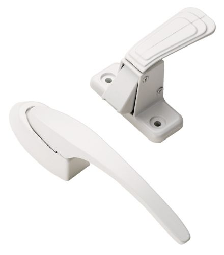Storm Door Pull Handle, White Product image