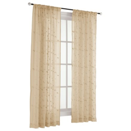 For Living Lyla Embroidered Sheer Window Panel Product image