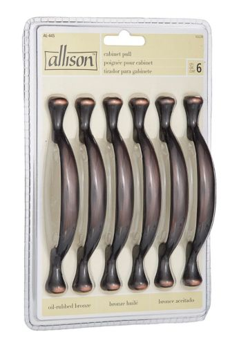 Allison Traditional Footed Pull, 6-Pk Product image