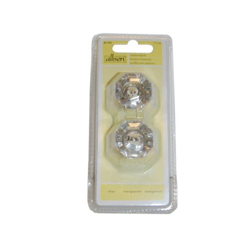 Acrylic Clear Cabinet Knob, 2-Pk Product image