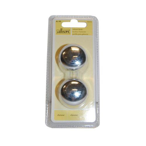 Elegant Orb Chrome Cabinet Knob, 2-Pk Product image