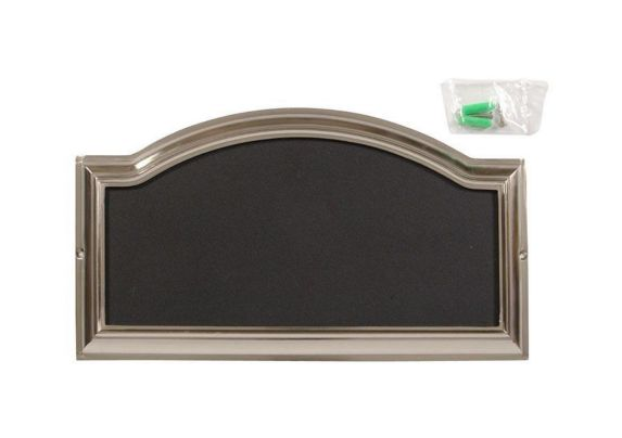 Hillman Address Plaque, Brushed Nickel Product image