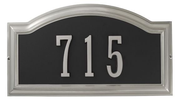 Thomas & Betts Two Tone Satin Nickel Distinctions Plaque Product image