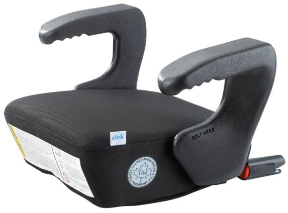 Clek Ozzi Booster Seat, Carbon Black Product image