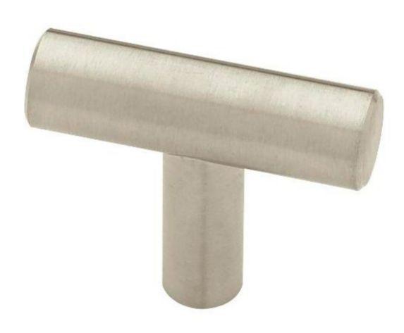 Peerless Steel Bar Knob, Satin Nickel, 1-5/8-in, 2-pk Product image