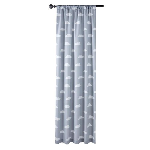 For Living Cloud Print Drapery, 63-in, 2-pk Product image