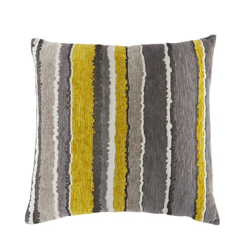 CANVAS Stripe Boho Toss Cushion, 18 x 18-in Product image