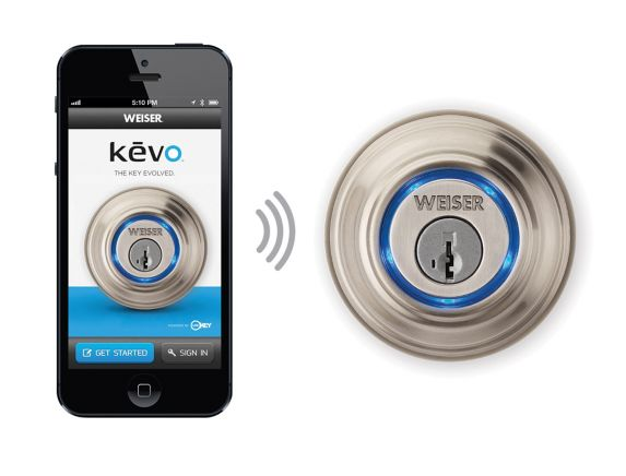Weiser Bluetooth Electronic Kevo Deadbolt Door Lock Product image