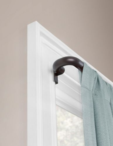 Smart Rods Room Darkening Curtain Rod, Oil Rubbed Bronze Product image