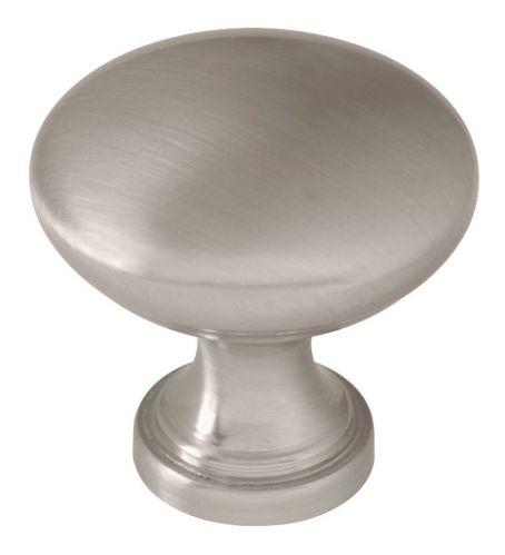 Peerless Round Knob, Satin Nickel. 1-1/4-in, 2-pk Product image