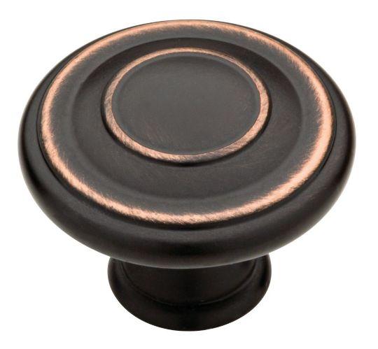Peerless Jackson Knob, Bronze, 1-3/8-in, 10-pk Product image