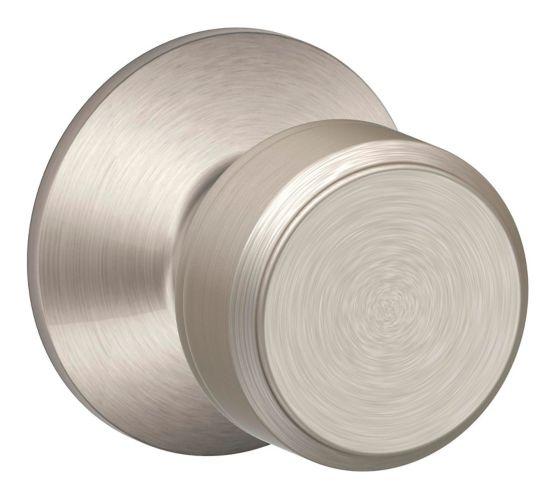 Schlage Bowery Passage Knob Lockset, Satin Nickel Product image