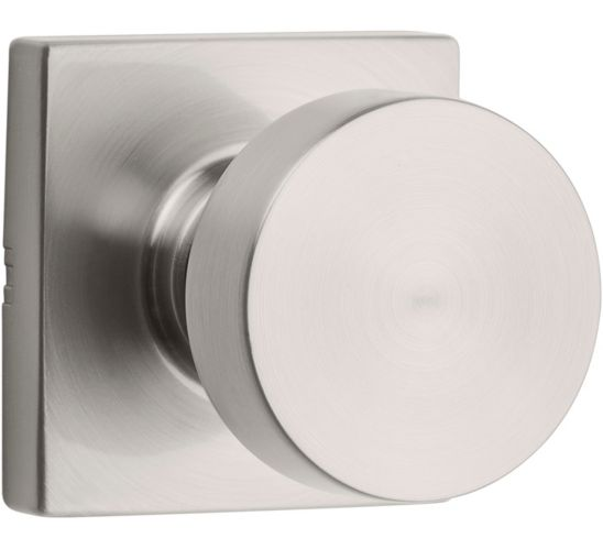 Weiser Cambie Passage Knob Lockset, Satin Nickel