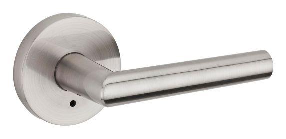 Weiser Milan Privacy Lever Lockset, Satin Nickel Product image