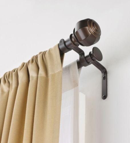 Tringle à rideaux double Loft, 84 à 120 po Image de l'article