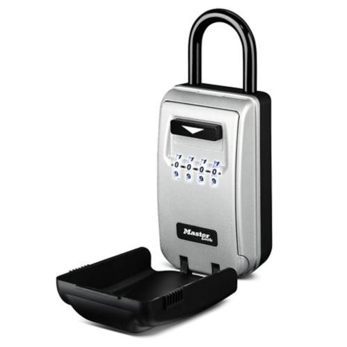 Boîtier de sécurité portatif à combinaison avec cadrans illuminés Master Lock Image de l'article