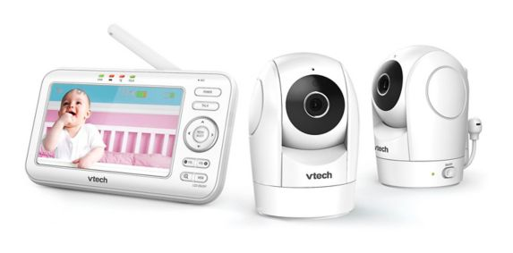 VTech VM5262-2 Baby Monitors with 2 Cameras